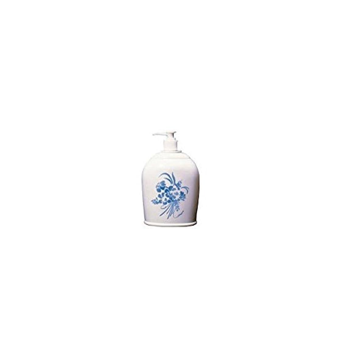 放射する追い越すお風呂を持っているアルタン ハンドソ?プ白磁風化粧ボトル 500mL / 6-8569-01
