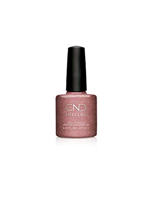 成人期副産物誘発するCND Shellac Gel Polish - Untitled Bronze - 0.25oz / 7.3ml