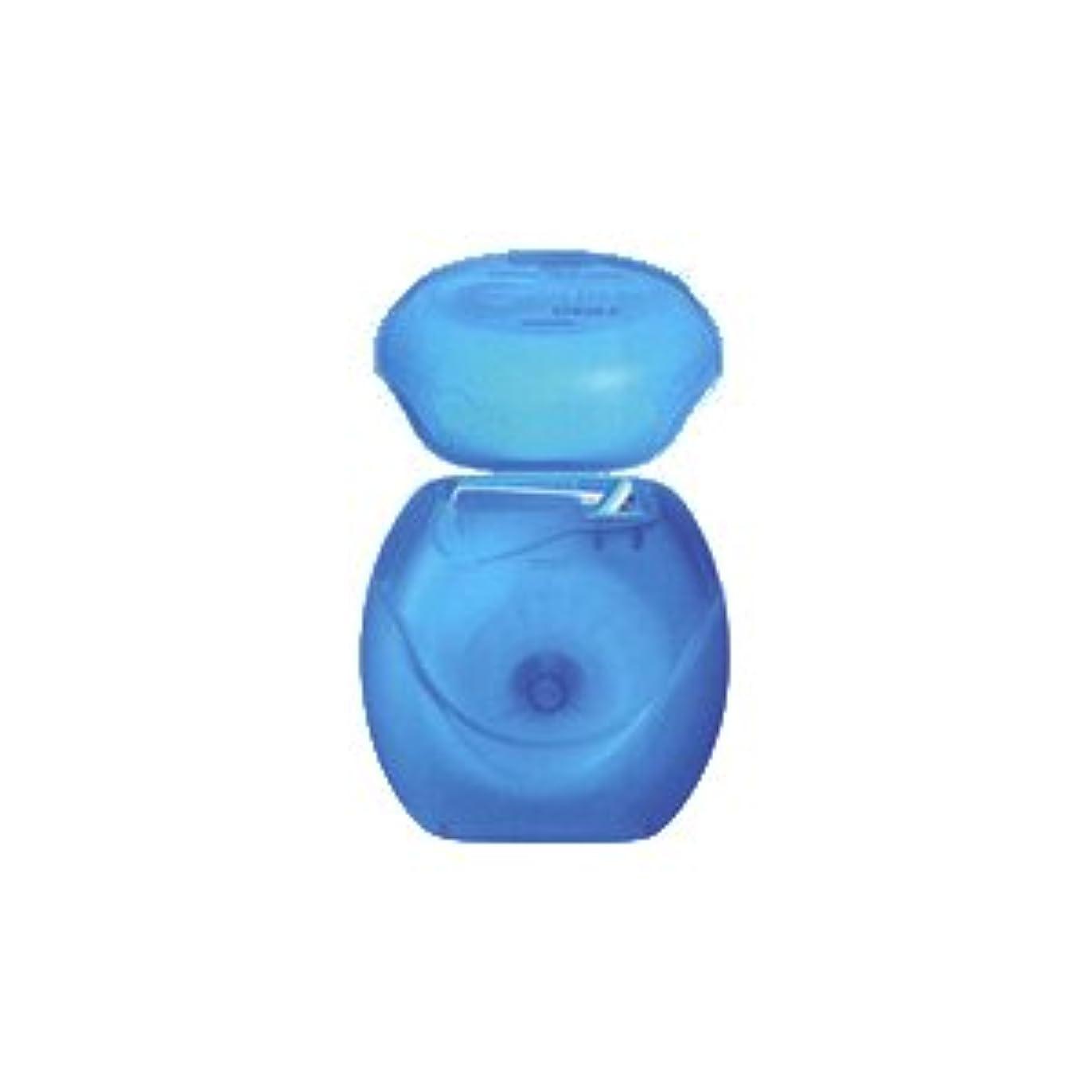 影響力のある安心させる可塑性ライオン DENT.e-floss デントイーフロス 1個 (ブルー)