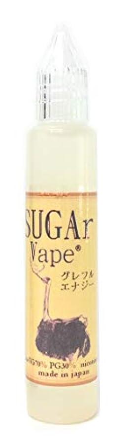既に連続的SUGAr Vape 電子タバコリキッド30ml (グレフルエナジー)