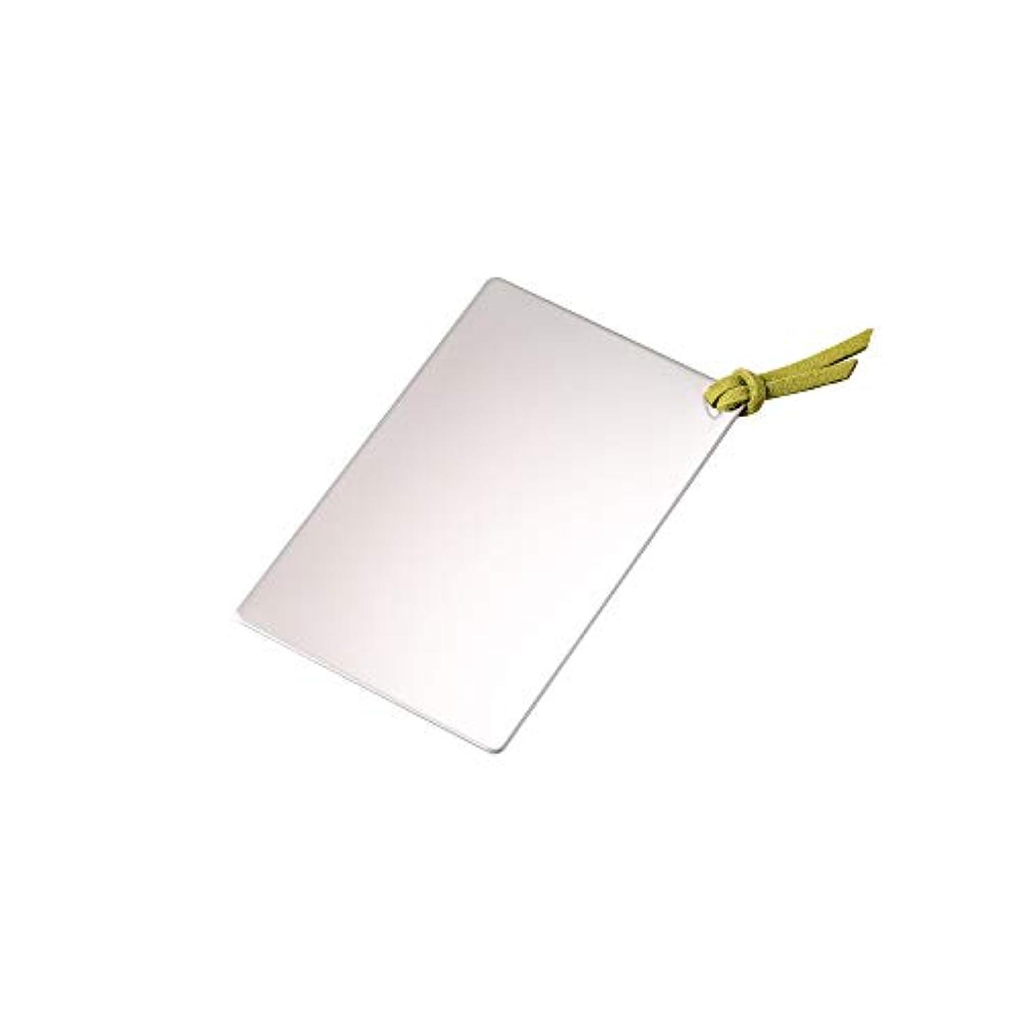 種類ベッドを作る締め切り割れないステンレスカードミラー ライトグリーン?SC-01LG