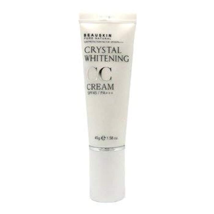 準備する無効にする健康Beauskin Pure Natural クリスタルホワイトニングCcクリームSPF 40 Pa +++ 45G 1.58Oz [並行輸入品]