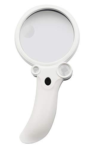 ケンコー LED照明付き手持ち拡大鏡 KTL-406