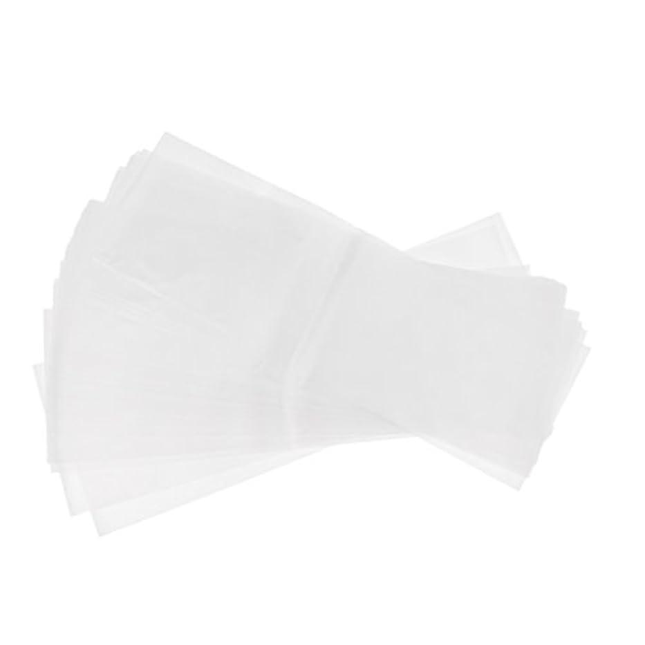 シャイニング肖像画ヒット約50枚 プラスチック製 染毛紙 ハイライトシート サロン ヘア染めツール 再利用可能 髪染め 2タイプ選べ - ホワイト