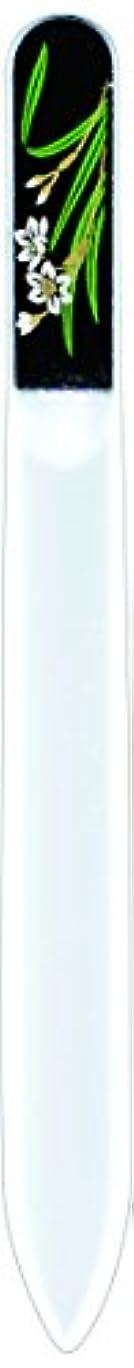 意識的害涙が出る橋本漆芸 ブラジェク製高級爪ヤスリ 一月 水仙 紙箱
