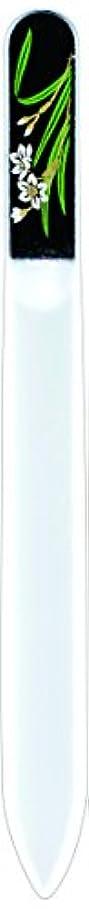 池世論調査シード橋本漆芸 ブラジェク製高級爪ヤスリ 一月 水仙 紙箱