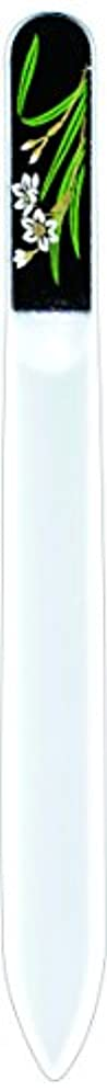丘ボトルネック統合橋本漆芸 ブラジェク製高級爪ヤスリ 一月 水仙 紙箱