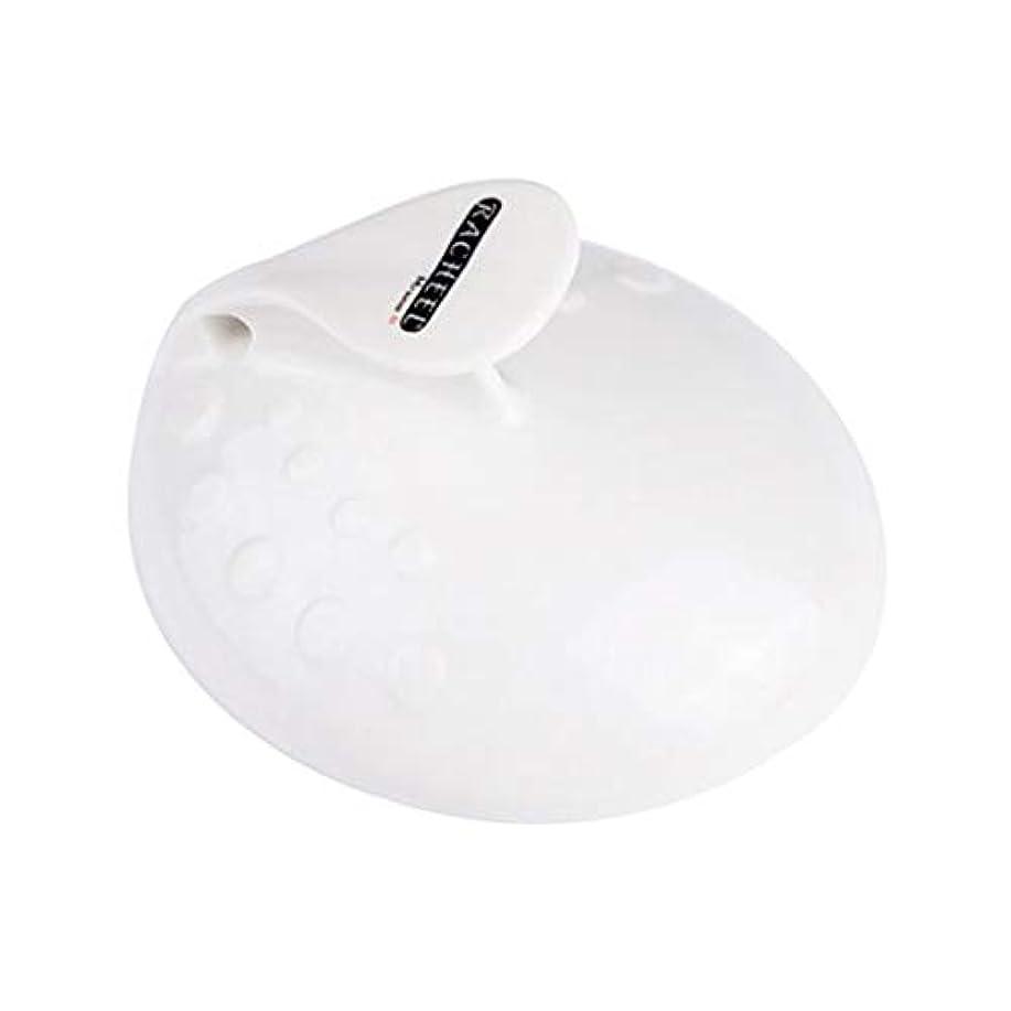 フリース日抵抗するPerfeclan フット 角質ケア ペディキュア 足 ファイル 角質取り かかと削り ガラス 爪磨き 全3色 - 白