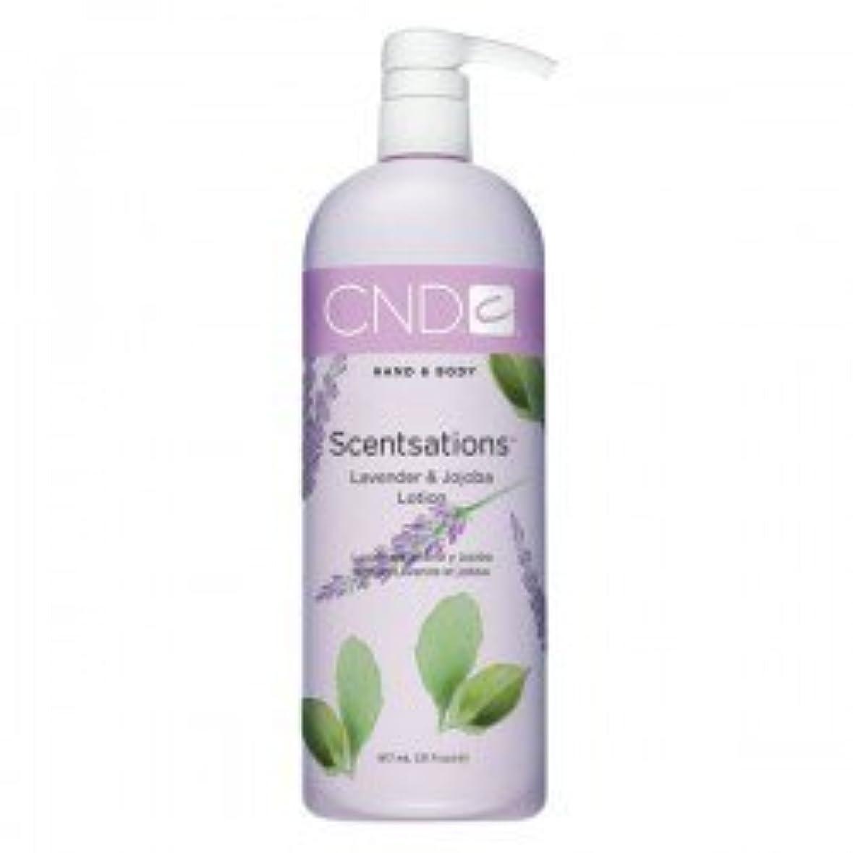 トレース吸い込む下着CND Scentsations Lavender & Jojoba Hand & Body Lotion - 33oz by Creative Nail [並行輸入品]