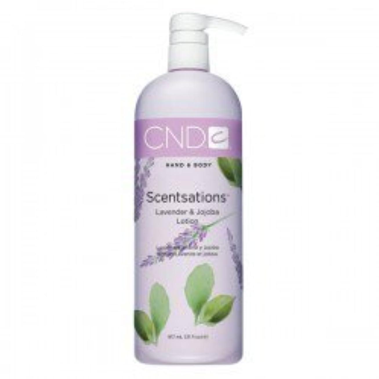 CND Scentsations Lavender & Jojoba Hand & Body Lotion - 33oz by Creative Nail [並行輸入品]