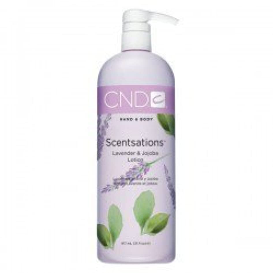 立法電球識別するCND Scentsations Lavender & Jojoba Hand & Body Lotion - 33oz by Creative Nail [並行輸入品]