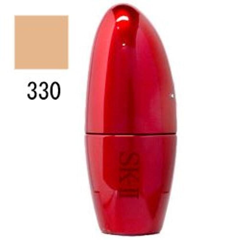 平手打ち傘樫の木マックスファクター SK-II サインズ パーフェクト ラディアンス リクィッド ファンデーション 25mL 【330 ラディアントオークル】 [並行輸入品]