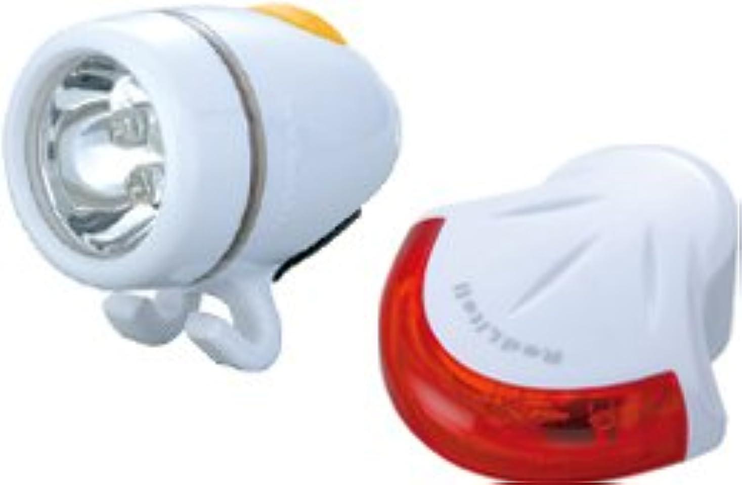 病弱調和のとれたひばりLPF09301 TOPEAK ハイライトコンボ2 ヘッドライト&リアライトセット ホワイト