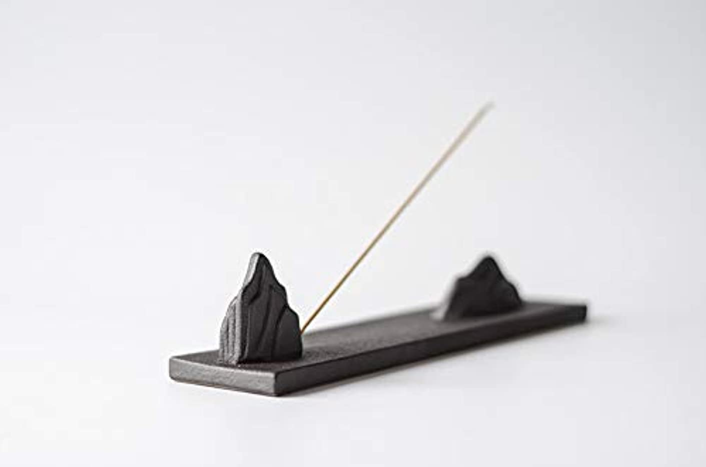 報酬数学的な効果的PHILOGOD 陶器香炉 ミニマリスト山水スタイリング線香立て 仏壇用香置物 香皿