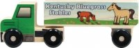 Maple Landmark 71140 Montgomery Schoolhouse - Semi Trucks - Horses