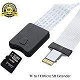 SD ExtenderケーブルMicro SDメモリーカードSanDisk SDXC to SDカード延長コード/ Macbook / Kindle / Raspberry Pi /カメラ/ 3dプリンタ