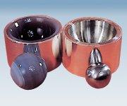 アズワン 電磁式ふるい振とう機 メノー乳鉢(粉砕機用) (5-5600-16)