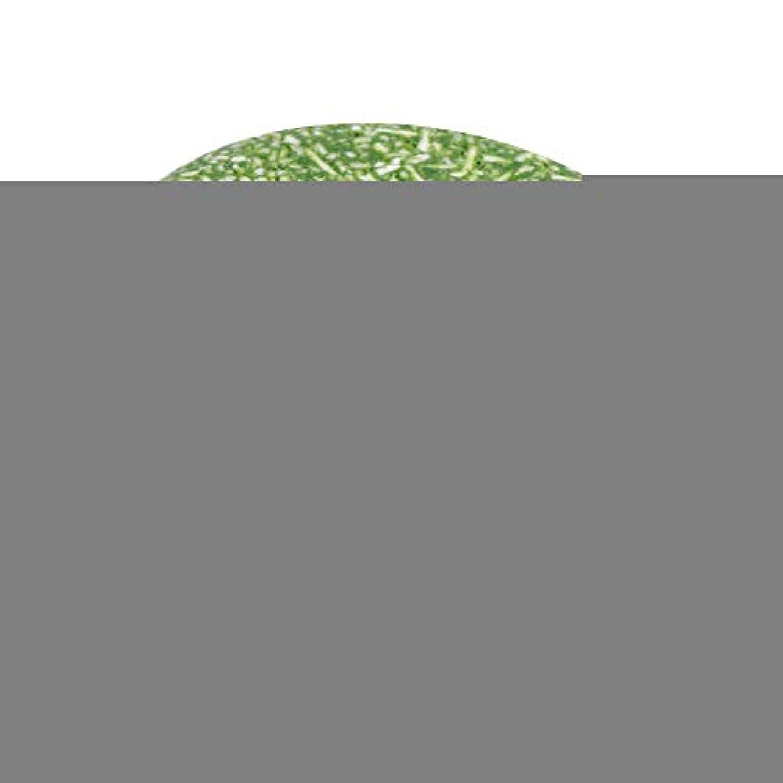 チーズ差別化する豚4色オーガニック手作りコールド加工シナモンシャンプーバー100%ピュアヘアシャンプー(緑)