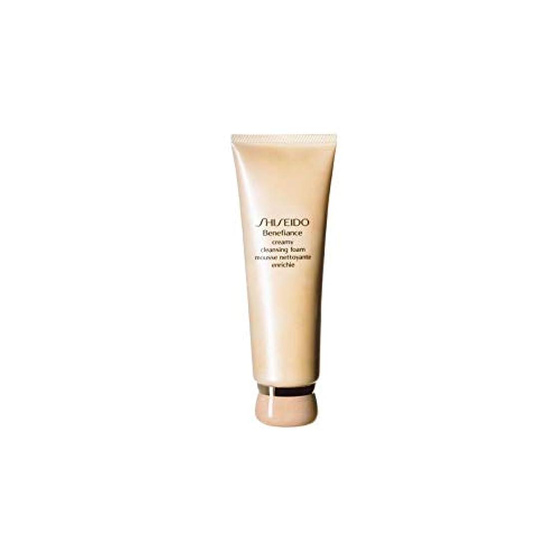 カール穴メジャー[Shiseido] 資生堂ベネフィアンスエクストラクリーミークレンジングフォーム(125ミリリットル) - Shiseido Benefiance Extra Creamy Cleansing Foam (125ml)...