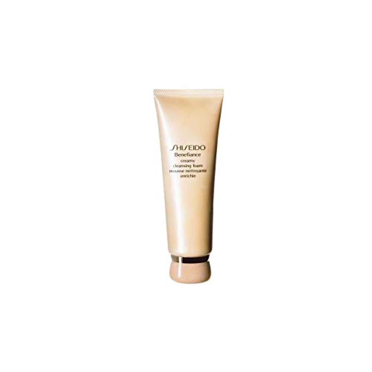 シャワー貫通する連鎖[Shiseido] 資生堂ベネフィアンスエクストラクリーミークレンジングフォーム(125ミリリットル) - Shiseido Benefiance Extra Creamy Cleansing Foam (125ml)...
