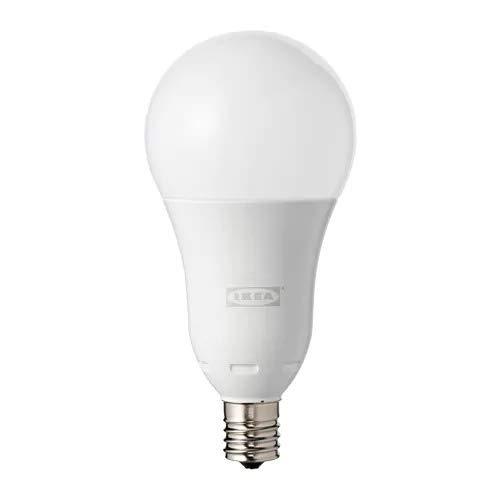 IKEA/イケア TRADFRI:LED電球 E17/600ルーメン・ワイヤレス調光 オパールホワイト(504.115.70)