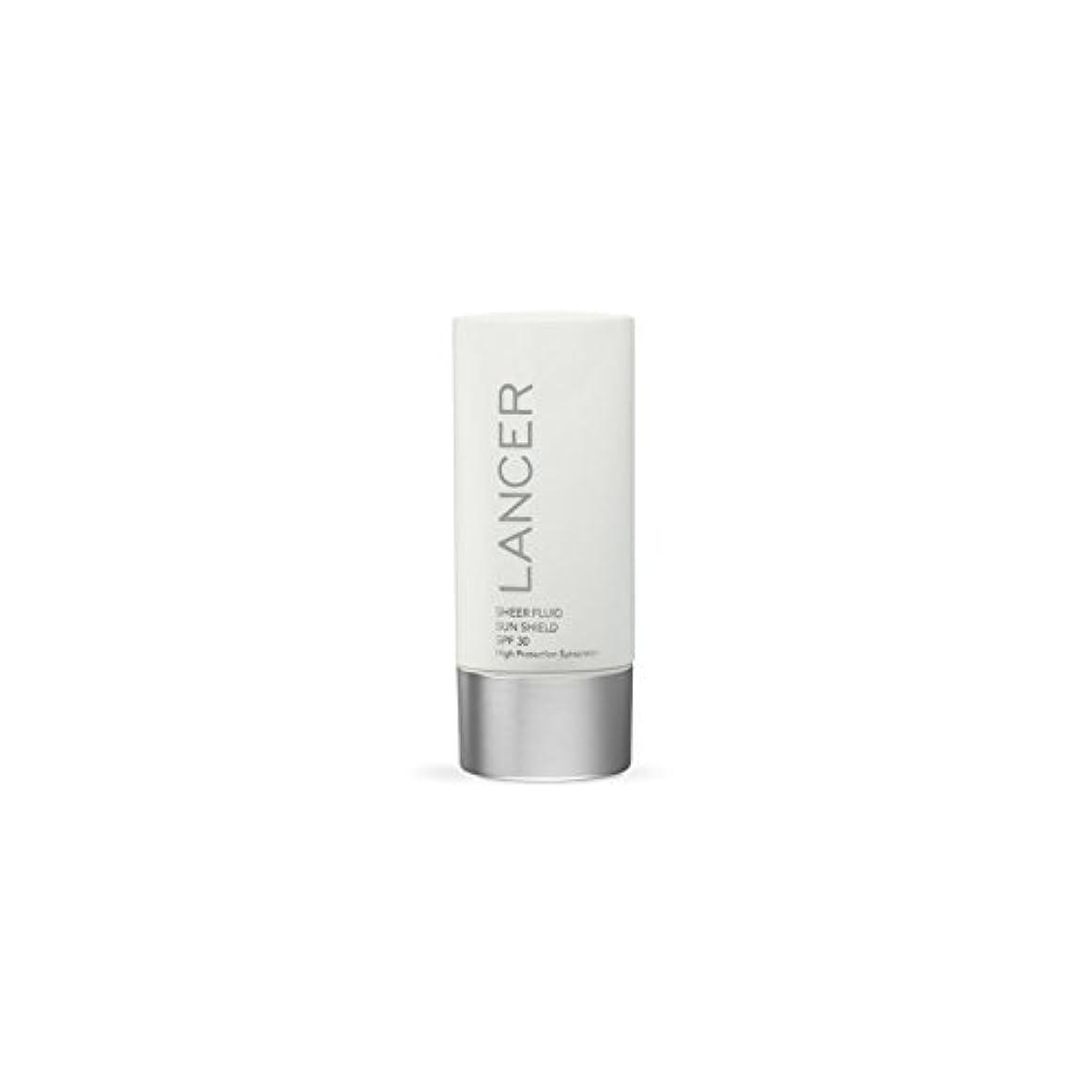 ラブ下ジョグLancer Skincare Sheer Fluid Sun Shield Spf 30 (60ml) (Pack of 6) - ランサースキンケア切り立った流体サンシールド 30(60ミリリットル) x6 [並行輸入品]