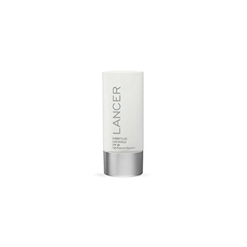 助けて格納記憶Lancer Skincare Sheer Fluid Sun Shield Spf 30 (60ml) (Pack of 6) - ランサースキンケア切り立った流体サンシールド 30(60ミリリットル) x6 [並行輸入品]