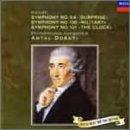 ハイドン:交響曲第94番「驚愕」/第100番「軍隊」/第101番「時計」