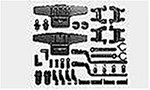 R/C SPARE PARTS SP-654 Mシャーシ D部品