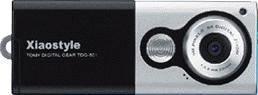 TDG-501-B デジタルカメラ(ブラック)