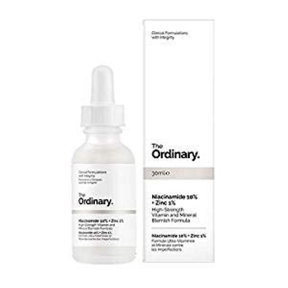 可愛い呼吸するプログラムジ オーディナリー (The Ordinary) Niacinamide 10% + Zinc 1% 30ml カナダ発の大注目スキンケアブランド
