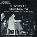 Glenn Gould in Stockholm 1958
