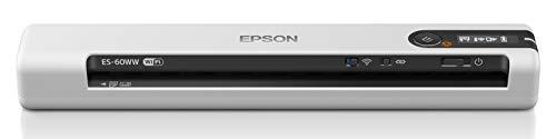 エプソン スキャナー ES-60WW (モバイル/A4/USB対応/Wi-Fi対応/ホワイト)