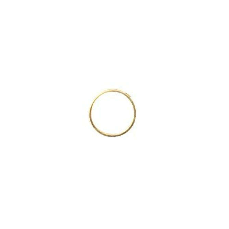 不良品レーザギャングシャレドワミュゼ BLC ブローチ ラウンド 7×7mm ゴールド 6P