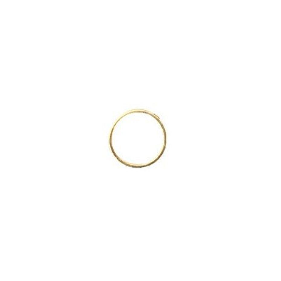 楕円形脚本運動するシャレドワミュゼ BLC ブローチ ラウンド 7×7mm ゴールド 6P