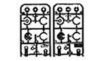 R/C SPARE PARTS SP-598 C.V.A.ダンパーII(ミニ) V部品(ダンパーカラ
