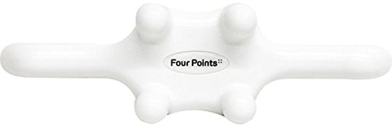 国民投票事実差フォーポインツ Four Points ホワイト(全5色) 筋膜リリース 肩こり解消グッズ 腰痛改善グッズ 頭 首 背中 脚 ふくらはぎ 足裏 ツボ押し マッサージ グッズ