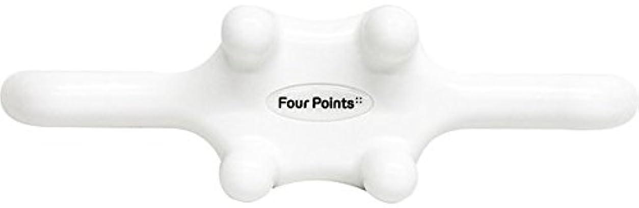 違法人に関する限りわずかなフォーポインツ Four Points ホワイト(全5色) 筋膜リリース 肩こり解消グッズ 腰痛改善グッズ 頭 首 背中 脚 ふくらはぎ 足裏 ツボ押し マッサージ グッズ