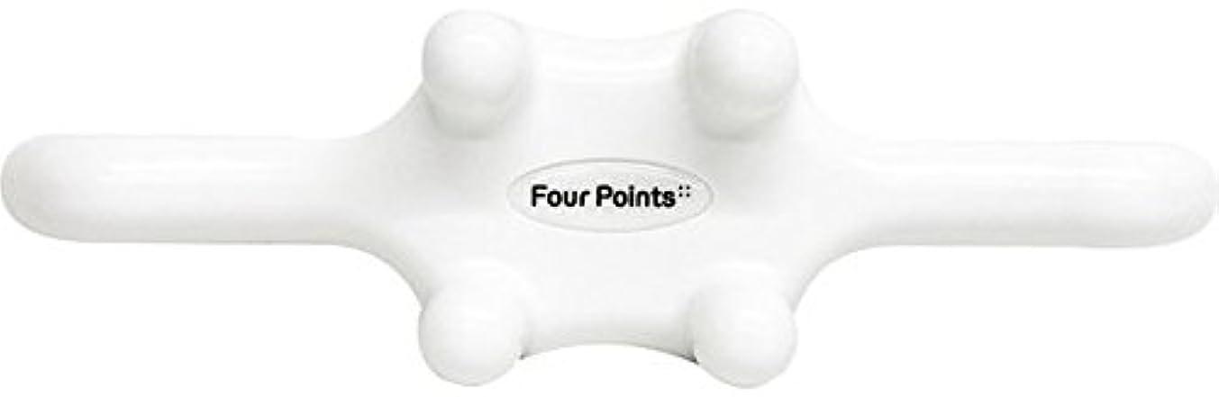 先祖チャンピオンシップピッチャーフォーポインツ Four Points ホワイト(全5色) 筋膜リリース 肩こり解消グッズ 腰痛改善グッズ 頭 首 背中 脚 ふくらはぎ 足裏 ツボ押し マッサージ グッズ
