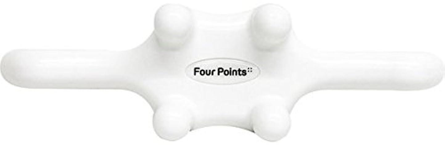 ジャケットチャーター回路フォーポインツ Four Points ホワイト(全5色) 筋膜リリース 肩こり解消グッズ 腰痛改善グッズ 頭 首 背中 脚 ふくらはぎ 足裏 ツボ押し マッサージ グッズ