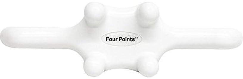 配分任命する困難フォーポインツ Four Points ホワイト(全5色) 筋膜リリース 肩こり解消グッズ 腰痛改善グッズ 頭 首 背中 脚 ふくらはぎ 足裏 ツボ押し マッサージ グッズ