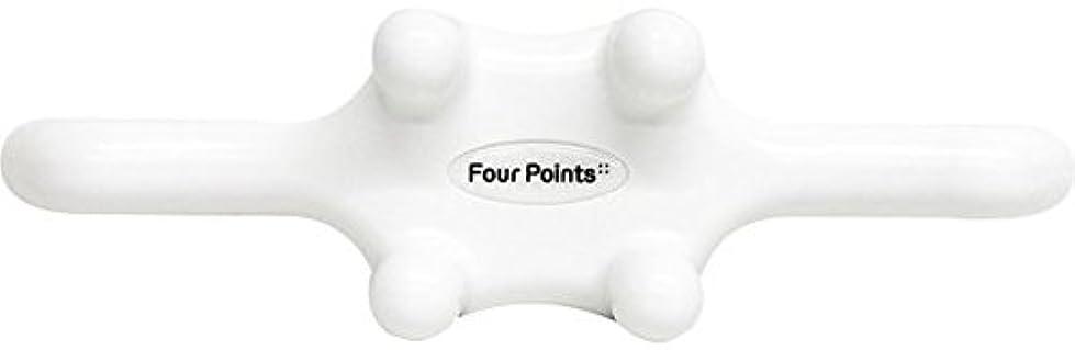 哀れなタンパク質いいねフォーポインツ Four Points ホワイト(全5色) 筋膜リリース 肩こり解消グッズ 腰痛改善グッズ 頭 首 背中 脚 ふくらはぎ 足裏 ツボ押し マッサージ グッズ