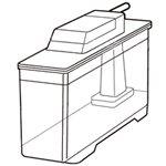 SHARP/シャープ 冷蔵庫用 給水タンク [2014210106] (2014210106)