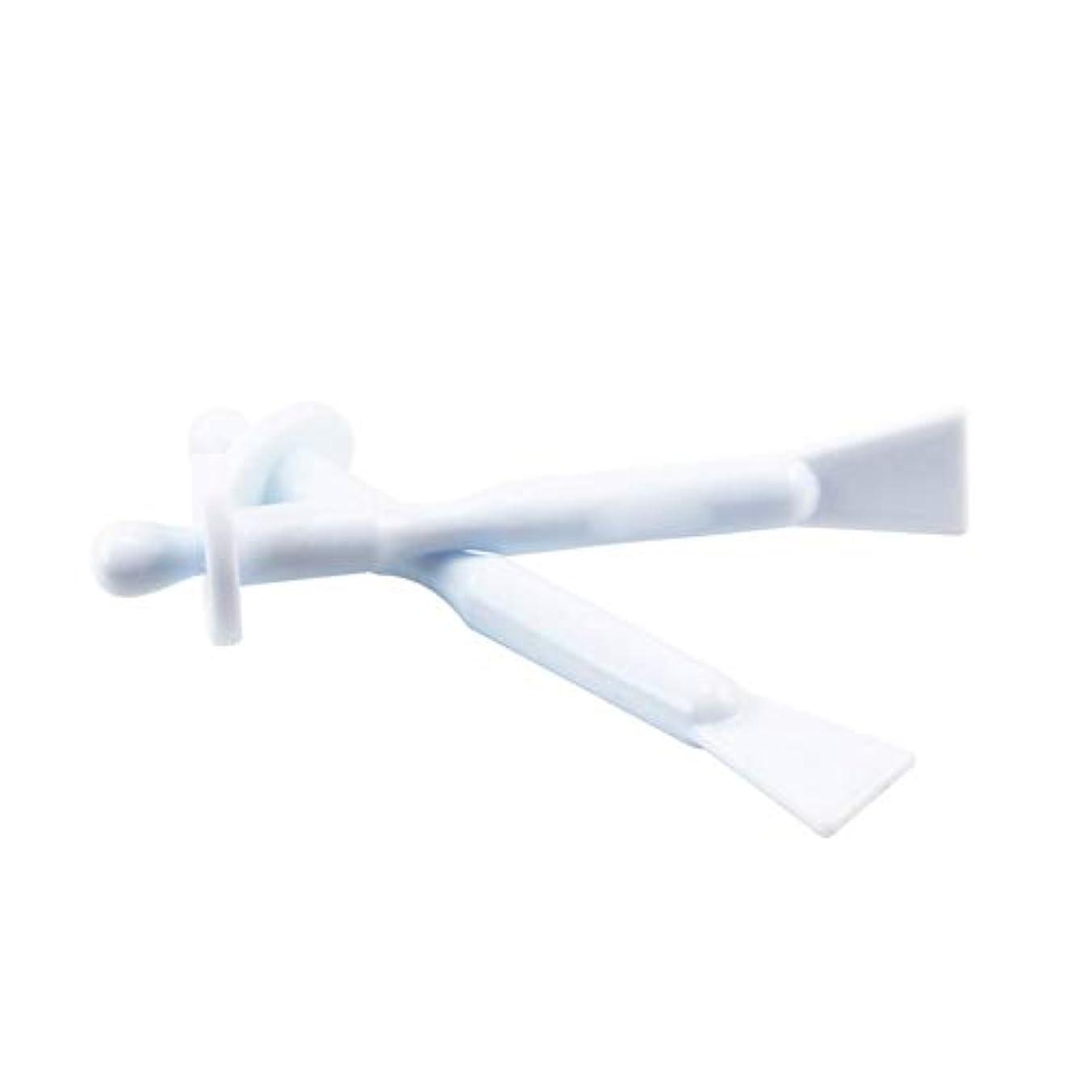 マーキング体系的に山積みの鼻ワックススティック2in1の除去ワックスツールノーズ部4の清掃へらポータブルバー鼻鼻孔耳の毛をワックスアプリケータースティック