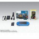 PSP「プレイステーション・ポータブル」 新米ハンターズパック バイブラント・ブルー (PSPJ-30007) 【メーカー生産終了】