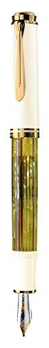 ペリカン 万年筆 EF 極細字 ホワイトトータス スーベレーン M400 正規輸入品