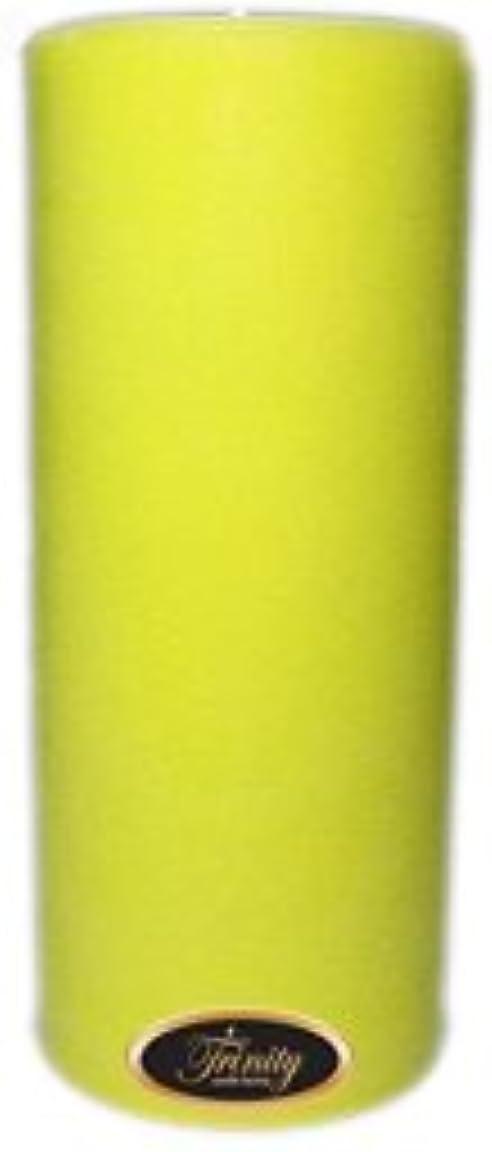 静かな麻酔薬月曜日Trinity Candle工場 – レモングラス – Pillar Candle – 4 x 9