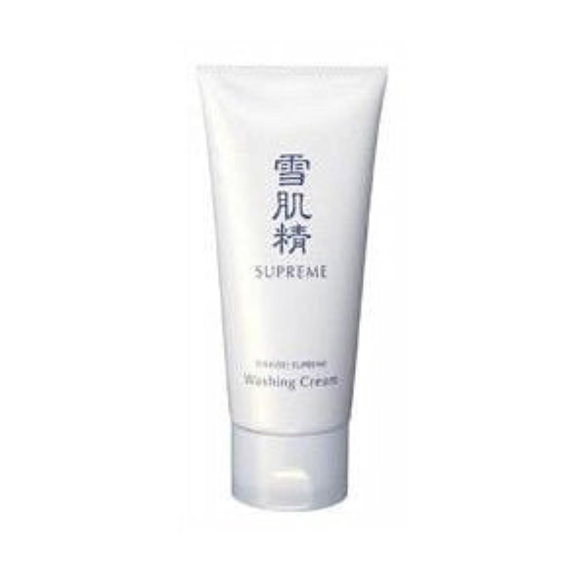 整理する弾力性のある正確コーセー 雪肌精 シュープレム 洗顔クリーム 140g