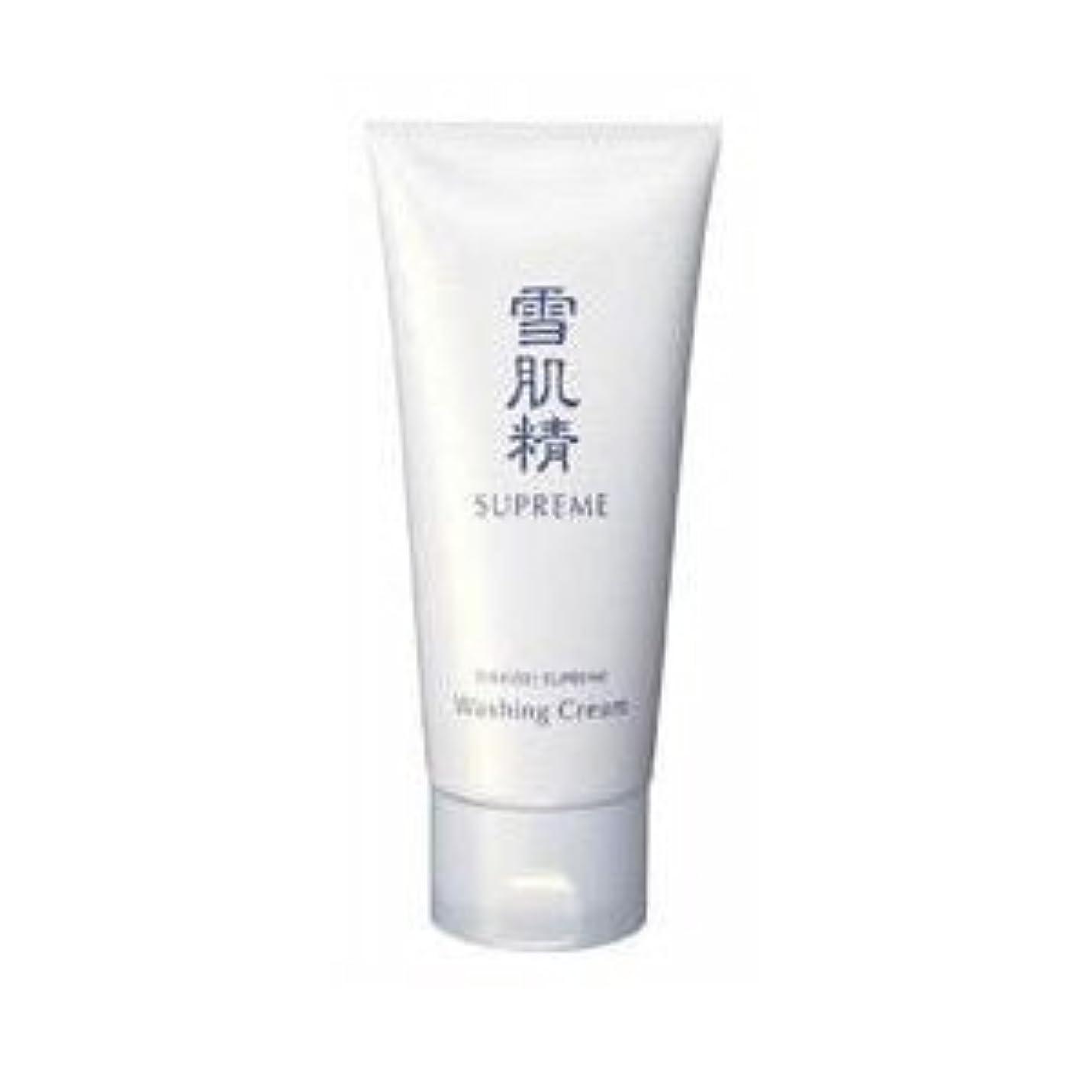 活性化する評価するジャンクションコーセー 雪肌精 シュープレム 洗顔クリーム 140g