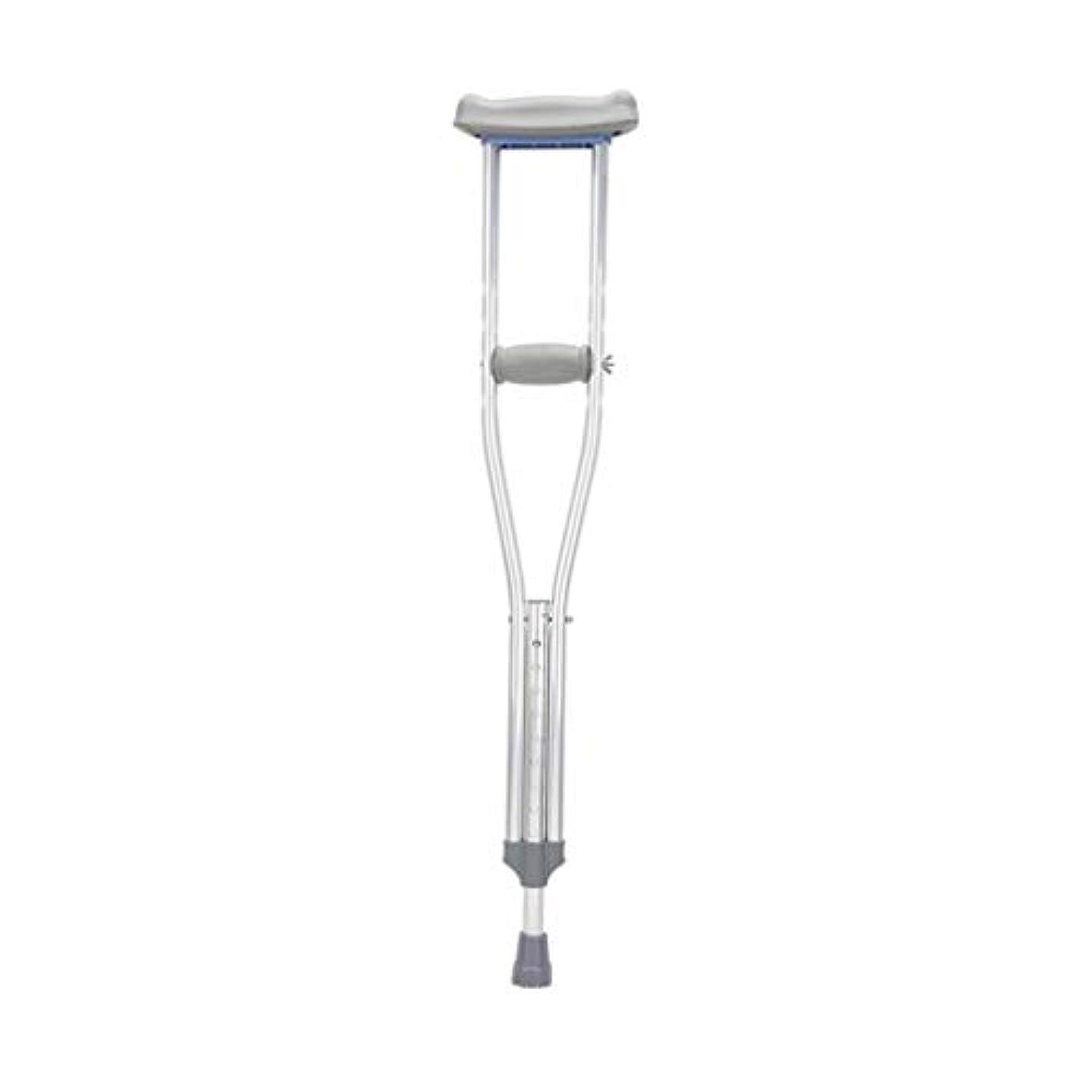 背骨ズボン人生を作る軽量調節可能なアルミ製松葉杖、ミディアムアダルト (Color : A, Size : Height135-154cm)